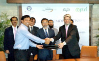 PTCL and Meezan Bank Sign an Agreement for PTCL Wireless Broadband Services
