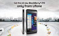 Ufone Brings BlackBerry Z10 Smartphone