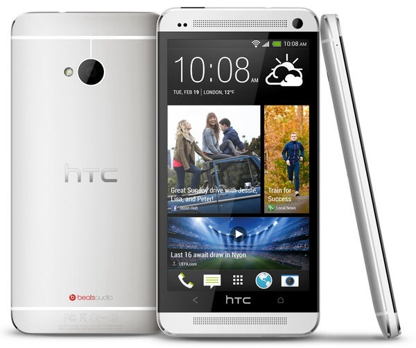 HTC-One-Android-Smartphon-silver-white