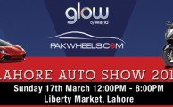 Glow by Warid and PakWheels.com to Hold Lahore Auto Show 2013