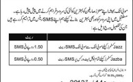 Mobilink to Increase SMS Charges for Jazz and Jazba Customers from March 14, 2013