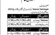 Telenor to Increase Call Rates for 63 Paisa and Economy Packages from March 19, 2013