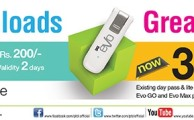 PTCL Revises its 3G EVO Packages