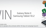 Telenor Offers the Chance to Win Samsung Tablet 10.2 & Galaxy Note II by Using Mobile Internet