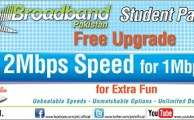 PTCL Offers Free Upgradation of Student Broadband Package from 1 Mbps to 2 Mbps