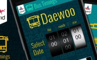 Warid Launches Daweoo Bus Schedule App