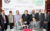 PTCL Signs MoU with Bahria Town for Deployment of Telecommunications Services