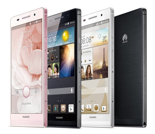 Huawei-Ascend-P6-ultra-slim-smartphone-colors-1