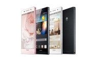The New Huawei Ascend P6 is the World's Slimmest Smartphone