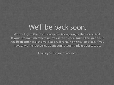 apple-developer-site-down