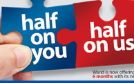 Warid Telecom Launches 'Half & Half' Offer for New Postpaid Customers
