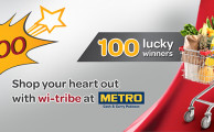 Wi-tribe Offers to Win Shopping of worth Rs. 10,000 from Metro Cash & Carry