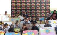 Glow Graffiti Contest held at Rising Sun Institute  for Special Children