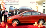 Wi-tribe Giveaway Honda City to the Winner of Campaign 'Make Your Dream Come True'
