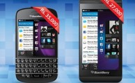 Warid Offers 50% Discount on BalckBerry Q10 & Z10 Smartphones