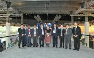 Minister and Pakistan IT delegation visit Huawei booth at MWC in Barcelona