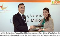 Ufone and Buksh Foundation illuminating Lives and Homes