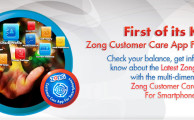 Zong Launches Customer Care App for Smartphones