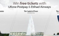 Win Free Tickets with Ufone Postpay and Etihad Airways