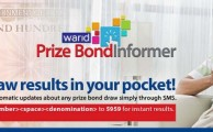 Warid Launches Prize Bond Informer Service