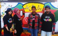 City Walls shine with Colors of Youth in Rawalpindi