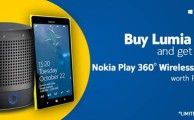Buy Lumia 1520 and get Free Nokia Play 360° Wireless Speaker