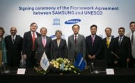 Samsung and UNESCO Announce First Global Partnership