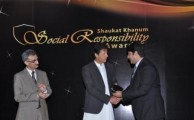 Warid Telecom Wins SKMT CSR Award for recognizing its Corporate Social Efforts