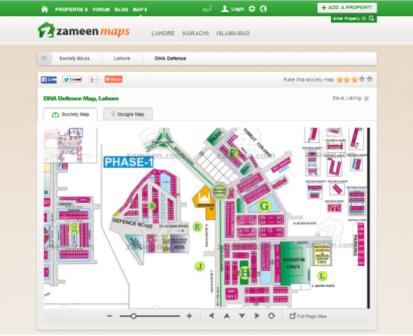 Zameen Maps