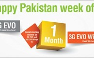 PTCL Launches 3G EVO & Wingle Happy Pakistan Week Offer