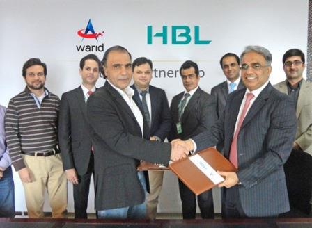 warid-hbl-agreement