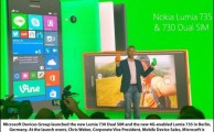 Lumia 730 and 735