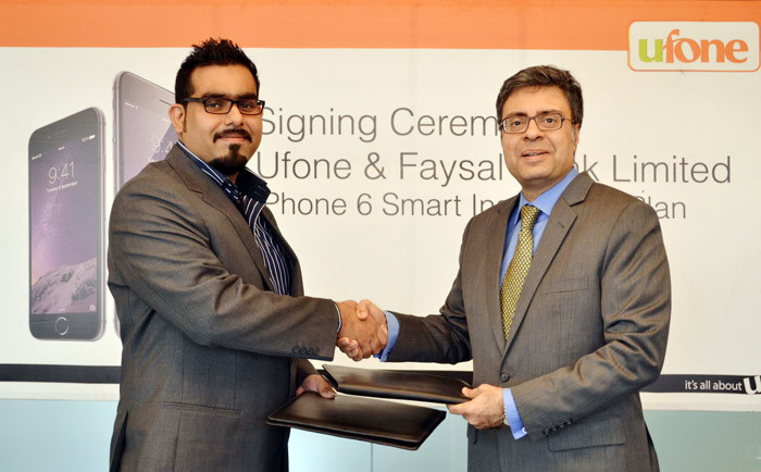 Ufone-and-Faisal-Bank