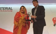 "In a very significant development for the telecommunications sector of Pakistan and in recognition of the forward looking progressive policies of the current Government in Mobile Broadband, Pakistan was awarded ""Spectrum for Mobile Broadband Award 2015 "" at the prestigious Mobile World Congress 2015 of the GSM Association here in Barcelona Spain. The annual event considered the epitome of telecommunications development and innovation globally brings together leaders from governments, regulators, top industry players and other constituents of the global ICT ecosystem at the annual Mobile world congress. ""The award of ""GSMA Spectrum for Mobile Broadband Award for 2015"" to Pakistan is an indication of the global community reposing its trust in the Telecommunication Sector policy practices of the Government of Pakistan"", said the Minister of State for Information Technology while accepting the award on behalf of the Government of Pakistan. She added that our policies have once again acclaimed worldwide recognition, and is in fact a continuation of Pakistan's journey during the course of which GSMA once again acknowledged us. The spectrum award which is one of the two annual ""Government Mobile Excellence Award"" awards is given as a recognition of significant achievement of the government in driving the growth and socio-economic impact of the mobile industry in the country, and demonstration of clear commitment in putting mobile broadband at the top of its digital agendas. The Minister in her key note address said that in a short span of 6 to 8 months since launch of 3G/4G service the mobile broadband subscriptions for 3 g stand at around 10 Million. The Spectrum auction for next generation mobile services has not only enabled the people of Pakistan to gain access to mobile broadband services and be at par with rest of the world in terms of mobile broadband technology, but has also successfully encouraged investment in mobile networks in Pakistan. Ms. Anusha Rahman Khan, Minister of State for Information Technology leaded a delegation of Pakistan at the annual GSMA Mobile World Congress, held in Barcelona, Spain. She was accompanied by Chairman Pakistan Telecommunication Authority (PTA) and Managing Director Pakistan Software Export Board (PSEB)."