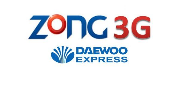 Zong 3G on Daweoo