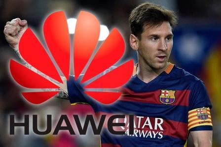 Messi-Huawei