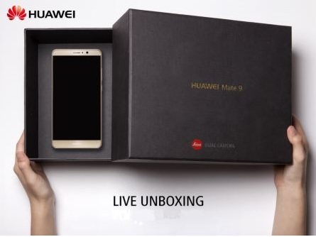 Mate9-Unboxing