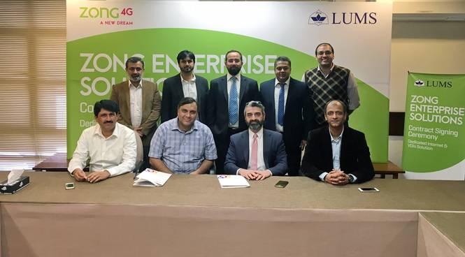 Zong-LUMS Partnership