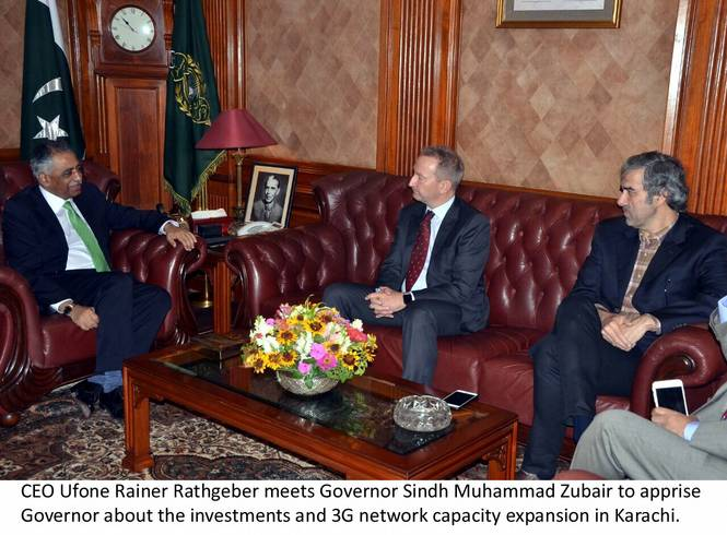 UfoneCEO-Meets-GovernorSindh