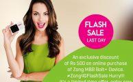 Zong4G-FlashSale