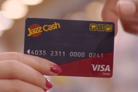 JazzCash Visa Debit Card