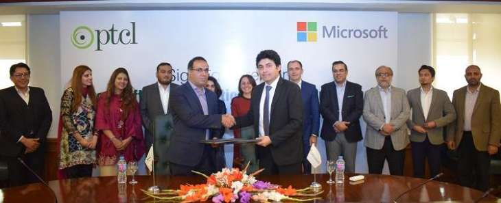 PTCL-Microsoft