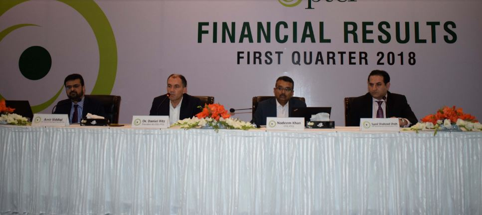 PTCL-FinancialResultsQ12018