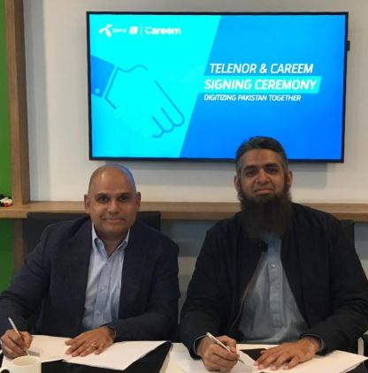 Telenor-Careem-MOU