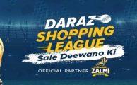 Daraz.pk Launches the Daraz Shopping League in Official Partnership with Peshawar Zalmi